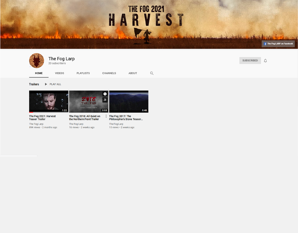 Check out our new YouTube channel!